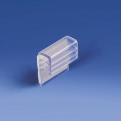 """Gripp """"U"""" przyklejany, wysokość 23 mm, materiał do 3,5 mm"""