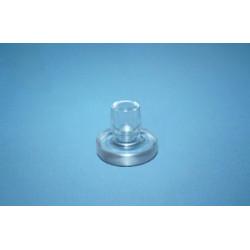 Podkładka do blatów szklanych Ø 18 mm, bezbarwna