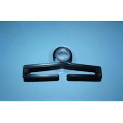 Przyssawka z plastikowym wieszaczkiem czarnym