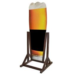 Potykacz typu A malowany - piwo - wodoodporny