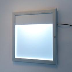 Gablota zewnętrzna na menu z podświetleniem LED