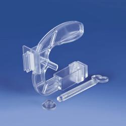 Imadło z prostopadłym grippem do mocowania prezentacji