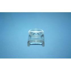 Podkładka do blatów szklanych Ø 14 mm z przyssawką, bezbarwna