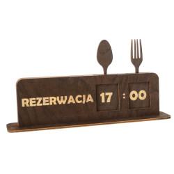 Tabliczka na stolik ,,REZERWACJA,,