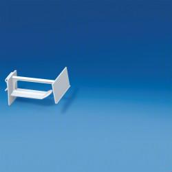 Hak plastikowy uniwersalny szeroki ze stałą etykietą cenową