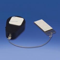 System antykradzieżowy samoprzylepny z rozciągliwym kablem.