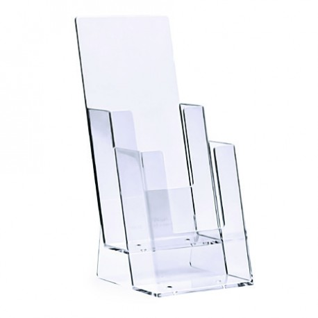 Counter Brochure Holder 2 Tiers 13 A4 Thepos